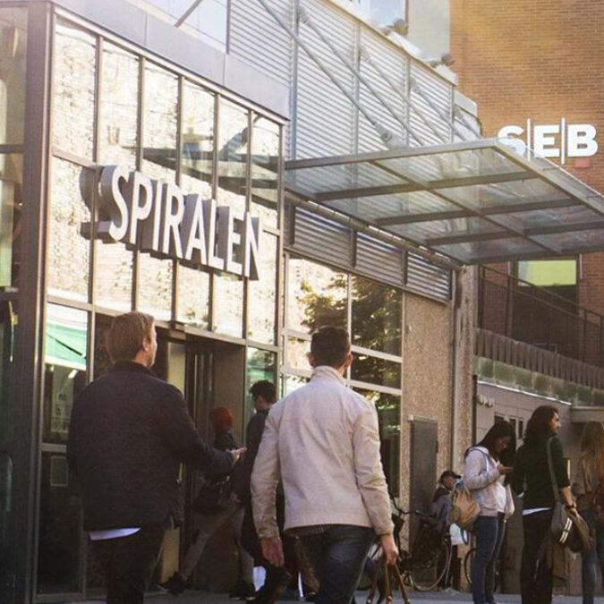 Spiralen köpcentrum i Norrköping